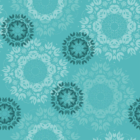Beautiful snowflakes. Abstract seamless background with trendy elements.Vector pattern for web-design, textile, graphic design.