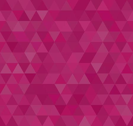 Üçgen Mozaik, kesintisiz arka plan, vektör