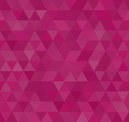 Triangle Mosaic, seamless background, vector