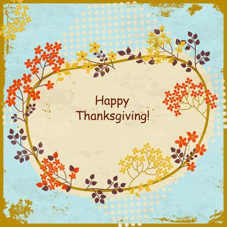 Thanksgiving background design