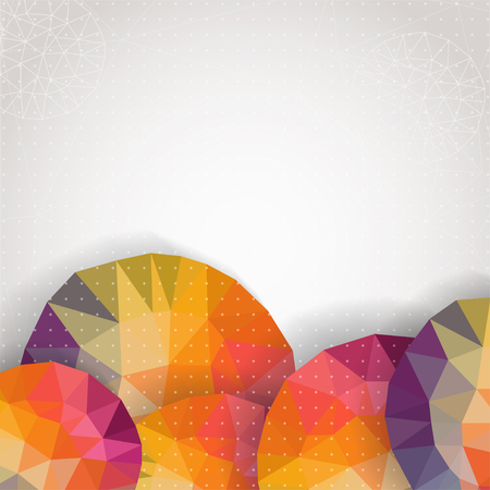 Abstract colorful background,  vector illustration