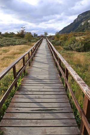 tierra del fuego: Ushuaia im Parque Nacional Tierra del Fuego