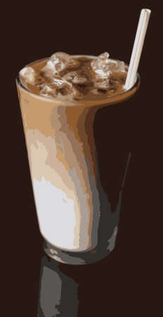 iced: Iced Cappuccino, Ice Coffee or Latte