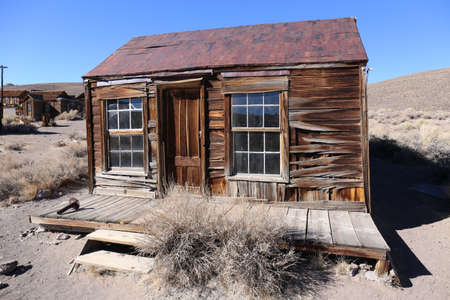Old house in Bodie Ghostetown, California, America Stock Photo