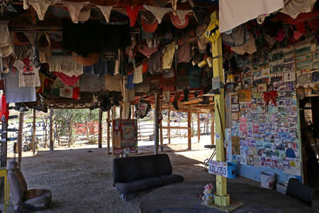 cocos: Cocos Corner, a crazy Guys Home on the Baja California, Mexico, Jan 2014
