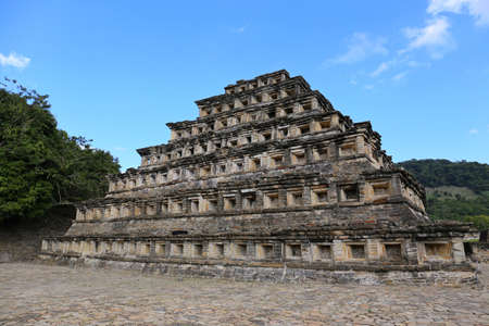 Archaeological site of El Tajin, Veracruz in Mexico