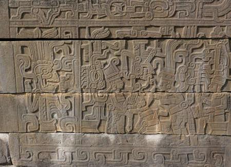 sacrificio: El sacrificio ceremonial en un Relief en El Tajín, México