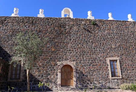 santa rosalia: Mision Santa Rosalia de Mulege, Baja California Stock Photo