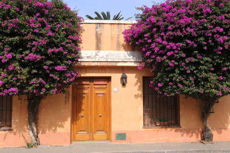 Colonial Town - Colonia del Sacramento in Uruguay - April 2017 Imagens - 80350209