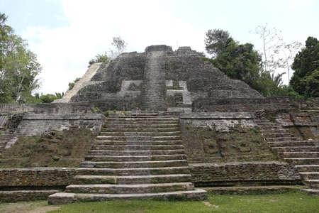 The Lamanai ruins in Belize