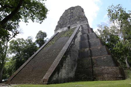 Temple V at Tikal, Guatemala, Central America