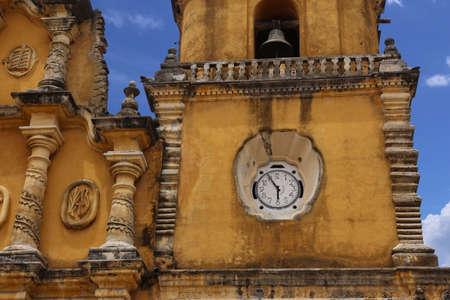 Yellow church - Recoleccion in Leon, Nicaragua