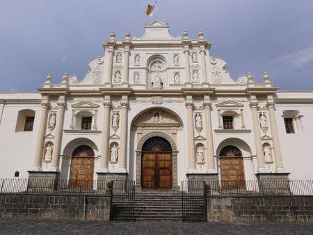 Cathedral of San Jose in Antigua, Guatemala