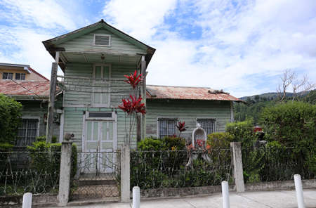 Typical House in Boquete, Panama, July 2015 Editorial