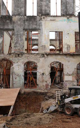 renovation of an old building