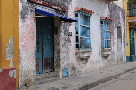 Streets of Cartagena de Indias, Colombia