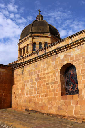 Cathedral of Barichara Santander in Colombia, South America
