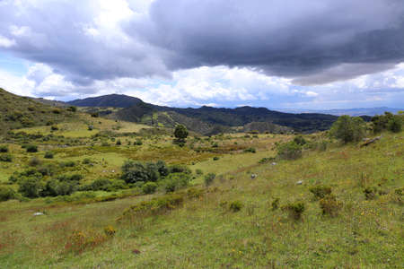 Typical Colombia Landscape Stock Photo