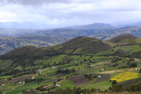 Typical Colombia Landscape 写真素材