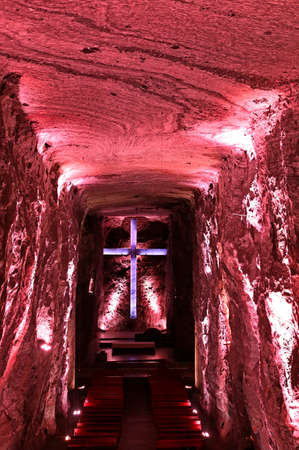 Salt Cathedral in Zipaquira, Colombia