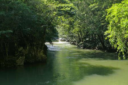 Reserva Natural Canon Rio Claro Stock Photo