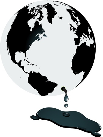 World and oil Stock Photo - 9689223