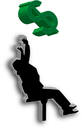 World economy: global crisis Stock Photo - 9689201