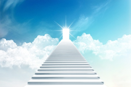 Stairs to the sky Imagens