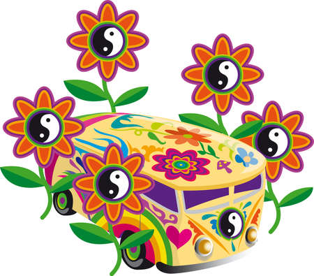 comunity: Peace and love: flower power