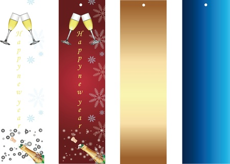 chear: Happy new year banners Illustration