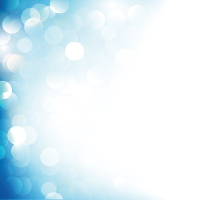background illustration: Blue gradient background with spotlights