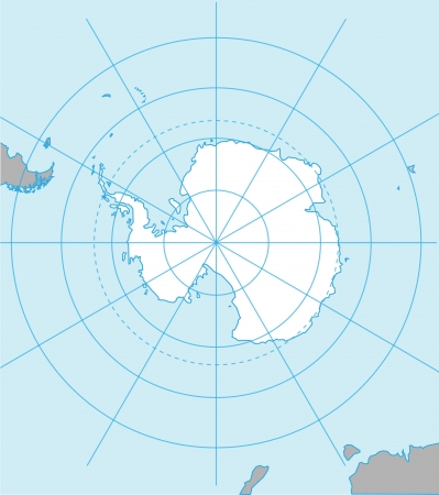 antarctica: Antarctic map