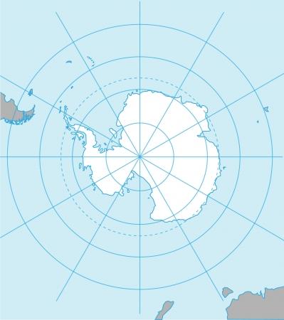 background antarctica: Antarctic map