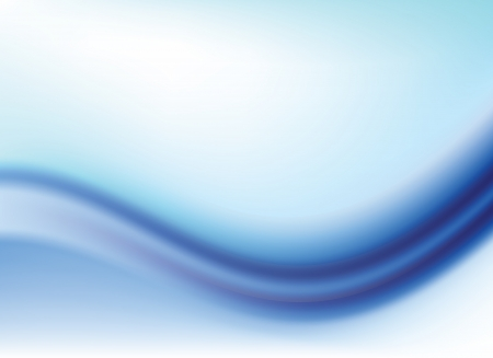 Abstract blue gradient background with waves