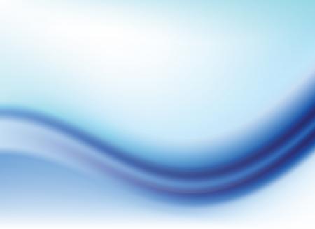 Abstrakte blaue Hintergrund mit Farbverlauf mit Wellen Illustration