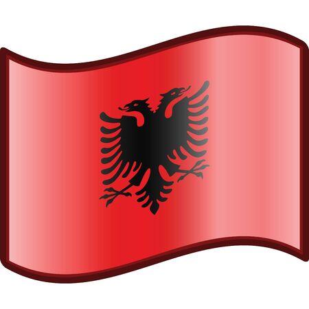 albanie: Albanie drapeau