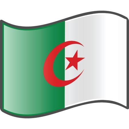 algeria: Algeria flag