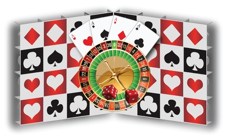 Gambling Stock Vector - 14881097
