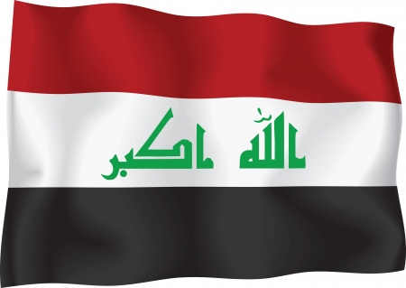 Iraq flag Vector