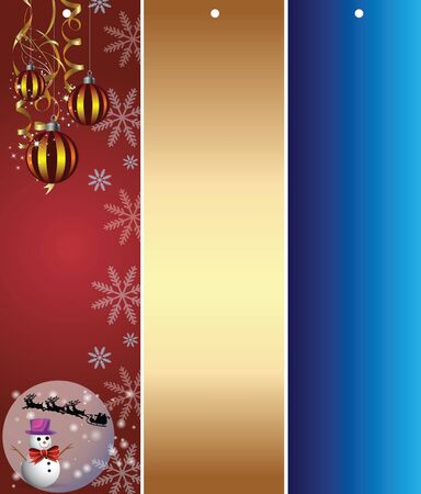 Christmas decorations banner Stock Vector - 14973738