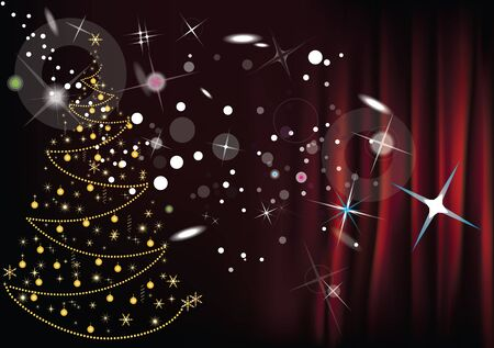 Merry Christmas and happy new year Stock Vector - 14973756