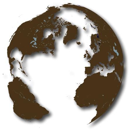 Erde Karte