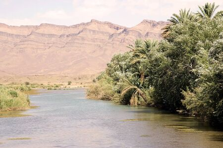 Morocco Draa River Landscape In The South Of Morocco Draa Is - Longest river in the us