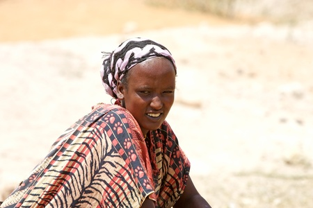 ethiopian: Yabelo, February 12, 2013: ethiopian woman in traditional clothes
