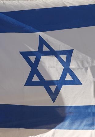 Israel flag  photo