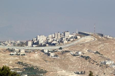 베들레헴, 이스라엘 근처의 이스라엘 서쪽 배리어
