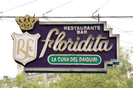 hemingway: Floridita is a historic restaurant and bar at the Havana, Cuba  It is famous for its daiquiris and for having been on the favourite place of Hemingway Editorial