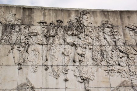 che guevara: Che Guevara monument details at the Che Guevara Mausoleum, Santa Clara, Cuba