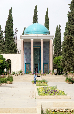 shiraz: Mausoleum of Saadi, Shiraz, Iran  Saadi was one of the major persian poets of the medieval period  he is not famous only in the persian speaking country, but He has been quoted also in the western sources as well  He is recognize for the quality of his wr