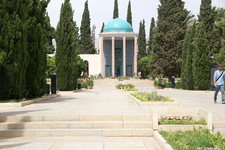 quoted: Mausoleum of Saadi, Shiraz, Iran  Saadi was one of the major persian poets of the medieval period  he is not famous only in the persian speaking country, but He has been quoted also in the western sources as well  He is recognize for the quality of his wr